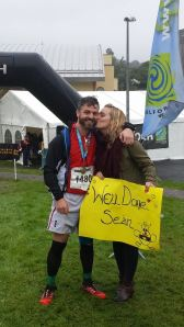 Gael Force Finish Line with Michelle