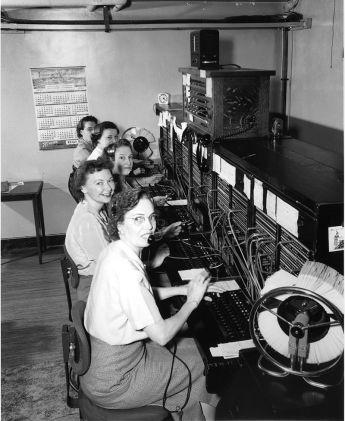 Telephone exchange operator