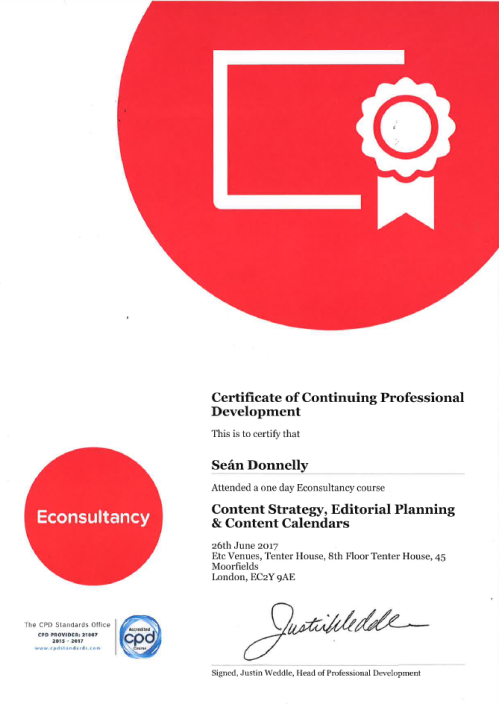 CPD Content Strategy - Editorial Planning and Content Calendars